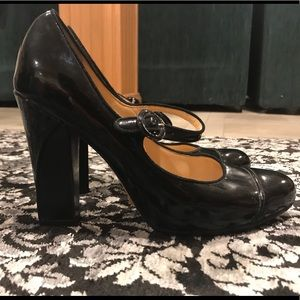 Women's Cole Han block heels